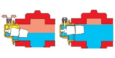 Автоматски воздушен вентил - скица