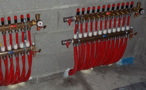 Инсталација на подно греење - модули