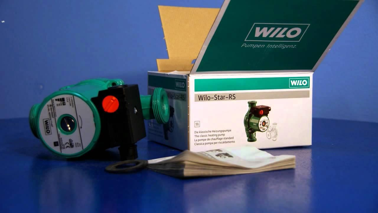 Знаевте ли дека Wilo- Star-RS има рачен избор на брзината за прилагодување на моќноста !
